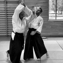 Aikido - Kaiten Nage Eingang