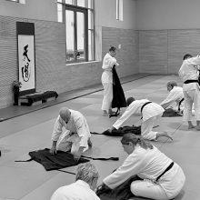 Aikido - nach dem Training